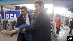 زخمی شدن صد ها تن در اثر حادثۀ قطار آهن در ارجنتاین