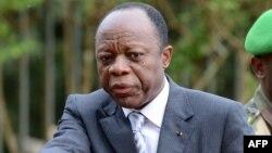 Le général Jean-Marie Michel Mokoko, candidat-rival du président Denis Sassou Nguessoà la présidentielle du 20 mars 2016. (AFP / Issouf Sanogo)