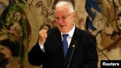 Tokoh konservatif Reuven Rivlin terpilih sebagai Presiden baru Israel, hari Selasa (10/6).