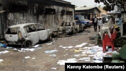 Les rues de Kinsasha ont retrouvé un semblant de calme après deux jours de manifestations, 21 septembre 2016.