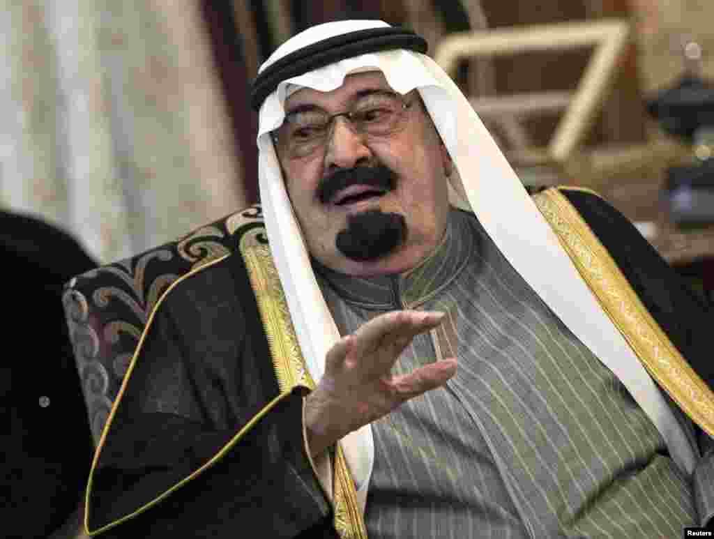 شاہ عبداللہ 91 برس کی عمر میں انتقال کر گئے۔