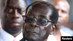 President Robert Mugabe left for Mali on Thursday, a day after he returned from Russia, leaving his party in turmoil.