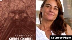 """Sara Primo Roque, autora do livro """"Os Silêncios da Guerra Colonial"""""""