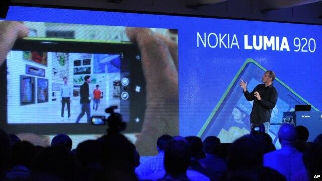 Predstavljanje smartfona Nokia Lumia 920