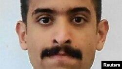 지난 6일 미국 플로리다주 펜사콜라의 해군 항공기지에서 발생한 총기 난사사건 범인으로 알려진 사우디아라비아 공군장교 모하메드 사이드 알샴라니.