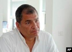 Mantan presiden Ekuador, Rafael Correa