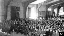 Kampi i koncentrimit Bukenvald, 1945
