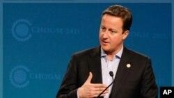 Britain's Prime Minister David Cameron (File Photo)