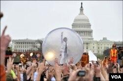 Puncak perayaan Hari Bumi di Washington DC, akan berlangsung hari Minggu, 25 April dengan konser berbagai musisi ternama (foto: dokumentasi)