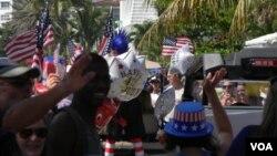 شادمانی امریکایی ها در روز استقلال ایالات متحده