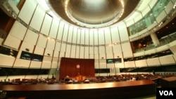 香港新一届立法会就职-资料照(美国之音 黎堡拍摄)