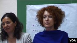 Romana Vlahutin EU ammbasador in Albania