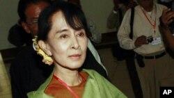Lãnh tụ dân chủ Miến Điện Aung San Suu Kyi