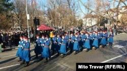 Bosnia-Herzegovina - Celebration of 9. January (a Day of Republic of Srpska), which is not constitutional holiday; Banjaluka, Banja Luka, 9. January 2019.