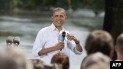 Obama, Minnesota ve Iowa'dan sonra Illinois eyaletine geçecek.