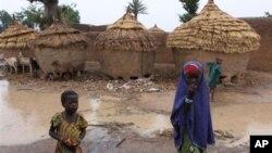Un village près de Gusau, capitale de l'Etat de Zamfara, dans le nord-ouest du Nigeria, le 9 juin 2010 APN Photo/Sunday Alamba).