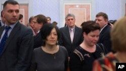 Члены общины Свидетелей Иеговы в зале суда (архивное фото)