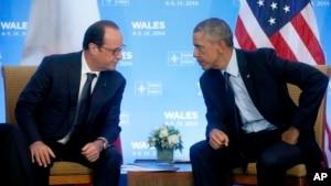 Tổng thống Pháp Francois Hollande sẽ gặp Tổng thống Mỹ Barack Obama vào ngày 24/11/2015 để họp bàn chống Nhà nước Hồi giáo.