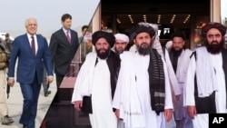 امریکایي چارواکي وایي له طالبانو سره د تړون له لاسلیک وروسته به بین الافغاني مذاکرات پیلیږي