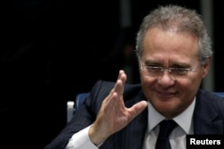 Brazil's Supreme Court ousted Senate President Renan Calheiros after the top court indicted him last week on charges of embezzlement.