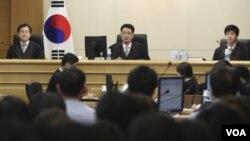 """南韓光州法院開始審理""""歲月號""""渡輪翻沉事故案件"""