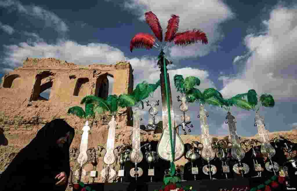 مراسم تعزیه در روستای قورتان ایران