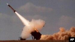 پرتاب موشک پاتریوت در جریان یک مانور نظامی در جنوب اسرائیل - آرشیو
