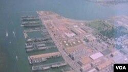 U Norfolku se nalazi najveća američka mornarička baza i najveća u svijetu