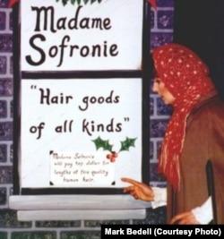 Della at Madame Sofronie's Shop