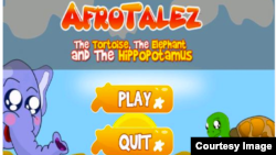 Elizabeth Kperrun says she learned life lessons from the folk stories she heard as a child, a tradition she says should be kept alive. Her AfroTalez app, for children ages 2 to 10, features a narrated story, full-screen animation, directions and quizzes.