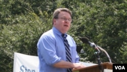 美国国会众议员克里斯托弗.史密斯(资料照片)