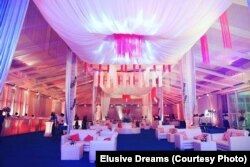 Indians spend thousands of dollars on decor to transform banquet halls in five star hotels and farmhouses for marriage functions.