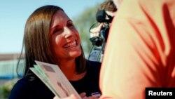 Кандидатка від Республіканської партії Марта МакСеллі, м. Меса, штат Арізона, 28 серпня 2018 року.