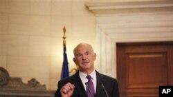 Le Premier ministre grec George Papandreou