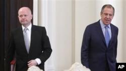 Уильям Хейг и Сергей Лавров