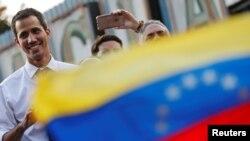 Juan Guaidó, líder da Assembleia Nacional
