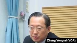 台湾经济部国贸局副局长 徐大卫(美国之音张永泰拍摄)