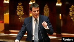 Fransanın baş naziri Manuel Valls