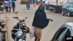 Une femme musulmane, Yaoundé, 16 juillet 2015