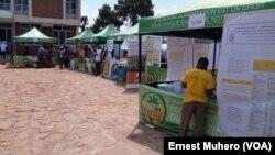 Les acteurs multisectoriels dans la province du Sud-Kivu viennent de s'engager à unir leurs efforts avec le gouvernement provincial dans la lutte contre la malnutrition chronique, le 25 mai 2016 (VOA/Ernest Muhero)