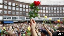 Норвежці вшановують пам'ять жертв терористичних атак