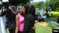 Wasu matasa a taron hadin kan Musulmai da Krista da ya gudana a Abuja