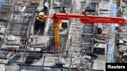 Một công trình xây dựng tại Hà Nội. Hình minh họa.