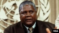 The late Vice President Joshua Nkomo's PF Zapu signed a Unity Accord with Zanu PF following hostilities between the two parties that left thousands killed and hundreds maimed in some parts of the country.