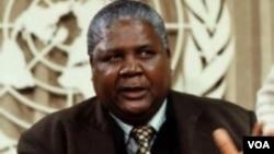 The late PF Zapu and Vice President Joshua Nkomo (File Photo)