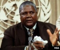The late Joshua Mqabuko Nyongolo Nkomo