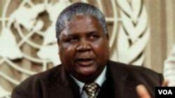 The late Vice President Joshua Nkomo