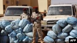 Les membres des forces de soutien rapide, l'unité controversée de contre-insurrection du Soudan à Khartoum, le 5 novembre 2017.