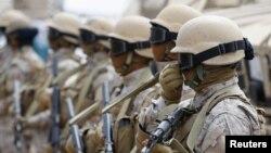 یمن میں تعینات سعودی فورسز
