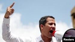 خوان گوایدو، رئیس جمهوری موقت و مشروع ونزوئلا